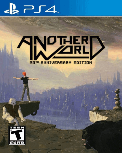 Another World PS4, cover game/capa do jogo