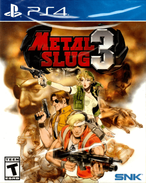 Metal Slug 3, cover game ps4