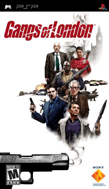 Gangs Of London Sony Playstation Portable