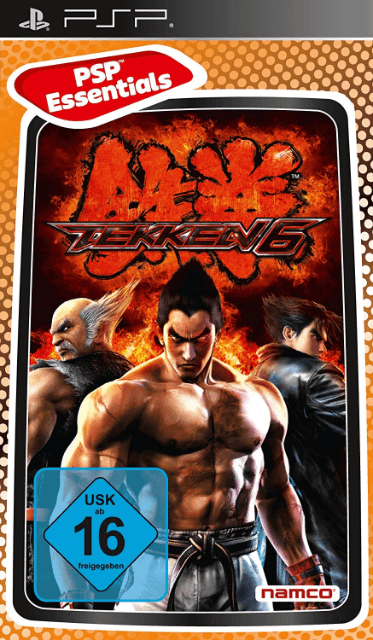 Tekken 6 Sony Playstation Portable