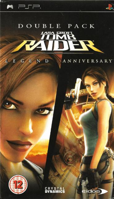 Lara Croft Tomb Raider Anniversary Legend Sony Playstation Portable