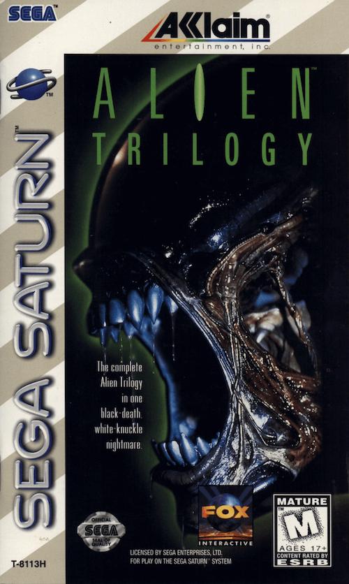 Alien Trilogy Sega Saturno