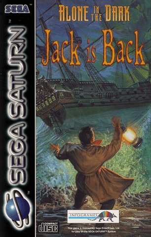 Alone In The Dark Jack Is Back Sega Saturn