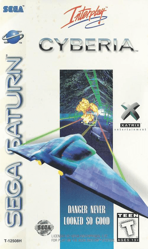 Cyberia-cover game saturn