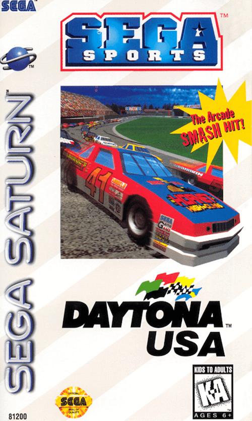 Daytona USA Sega Saturno!