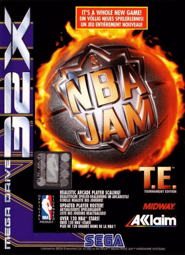 Nba Jam Tournament Edition Sega 32x