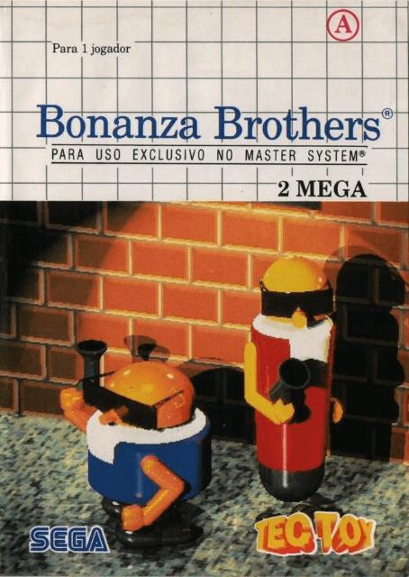 Bonanza Bros Sega Master System Mark Iii