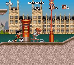 Adventure of Kid Kleets SNES (Soccer Kid), jogo em curso!