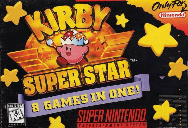 Kirby Super Star SNES-cover game!