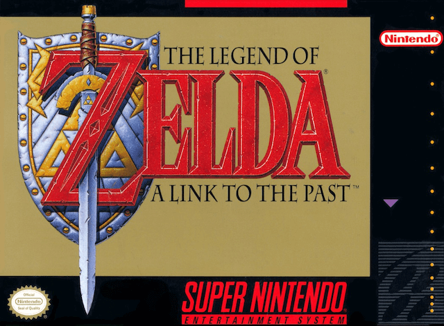 Zelda A Link To the Past-Super Nintendo-cover game