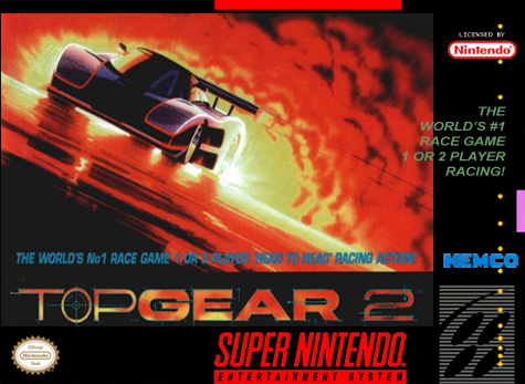 Top Gear 2 SNES-cover game