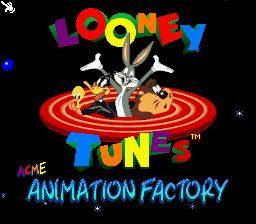 LOONEY Tunes ACME Animation Factory snes