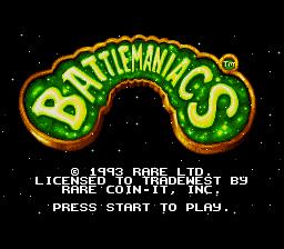 Battletoads in Battlemaniacs SNES