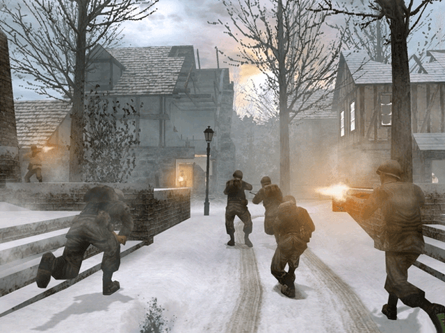 Call of Duty 2 BIG RED ONE- Game em curso Xbox