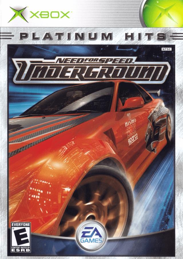 Need For Speed Underground Microsoft Xbox