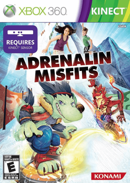 Adrenalin Misfits Xbox360-cover game