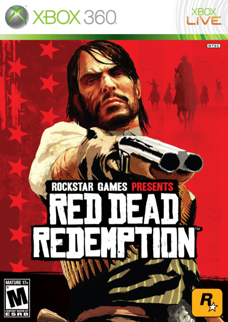 Red Dead Redemption, cover xbox360